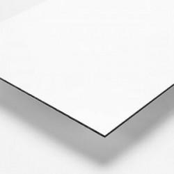Affiche en Alupanel (Dibond) 1/8'', imprimé 4/0 + Vernis UV