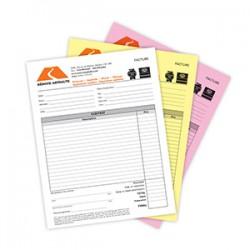 Formulaires NCR 3 copies, 4/0