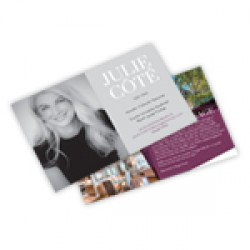 Cartons Publicitaires 5.5x8.5, 4/4 Enviro 13 pts