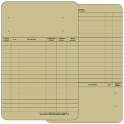 Boîte de 100 États de comptes 5.5x8.5, EC5X8