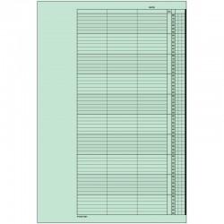 1 paquet de 52 feuilles, agenda de rendez-vous (Mercredi), P310-10HME