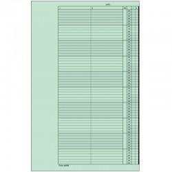 1 paquet de 52 feuilles, agenda de rendez-vous (Mercredi), P210-10HME