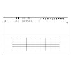"""Boîte de 100 pochettes 12"""" X 7"""", PCL712"""